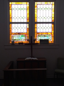 Window of the Edge Memorial UMC Chapel